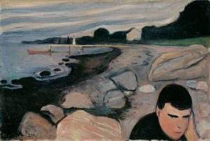 Munch, Melankoli, 1892